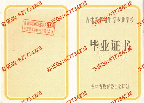 通化市卫生学校1999年中专毕业证(页1)